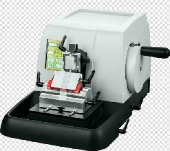 Microtome Semi-Automatic with Low Profile Blade Holder and Universal Cassette Clamp