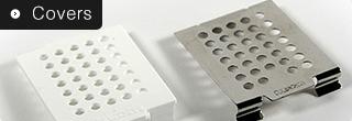 Plastic Covers White for Standard Cassettes (1000/Box)