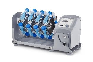 Rotator, LCD Digital, Variable Speed with adjustable mixing angle, Includes #18900147 Rotisserie for 16 x 50ml Centrifuge Tubes Vertically