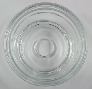 GLASS BOWL FLAT BOTTOM  ( 7111-403 )