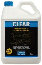 CHEMTECH CLEAR WINDSCREEN & GLASS 5LTR
