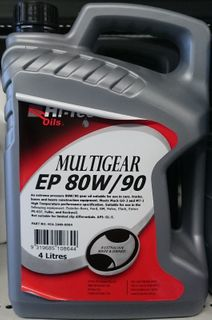 HI-TEC 80W/90 GL-5 MULTI GEAR OIL 4LTR