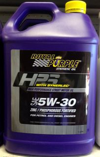 ROYAL PURPLE SYNTHETIC OIL 5W30 5LTR