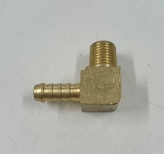 ELBOW HOSE END 5/16 MALE PIPE 1/4