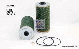 OIL FILTER (CARTRIDGE)