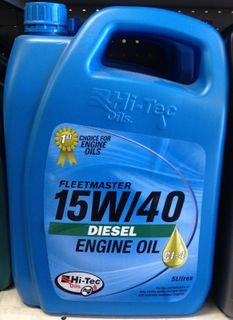 HI-TEC 15W/40 CI-4 5L DIESEL ENGINE OIL