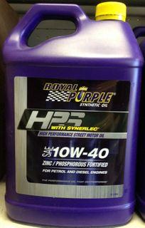 ROYAL PURPLE HPS MOTOR OIL 10W40 5LTR