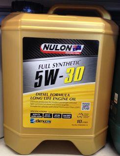 NULON DIESEL L/LIFE FULL SYN 5W/30 10LTR