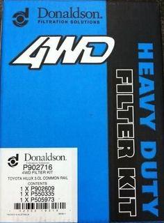 DONALDSON KIT (HILUX 3.0LTR 1KD-FTV)