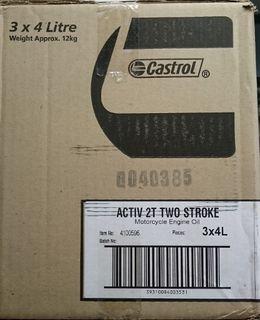 ACTIVE 2T 4L 2 STROKE OIL (BOX3)