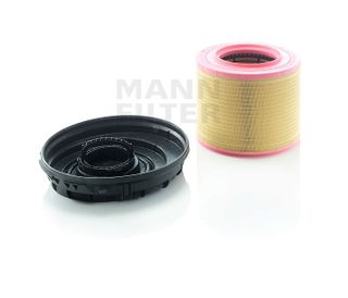 MANN AIR FILTER KIT (RE-USABLE COVER)