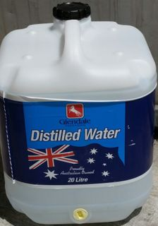 DISTILLED WATER 20LTR