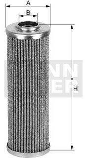 MANN HYDRAULIC FILTER 250008-956