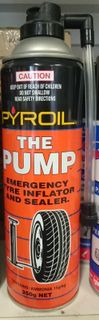 EMERGENCY TYRE INFLATOR AND SEALER