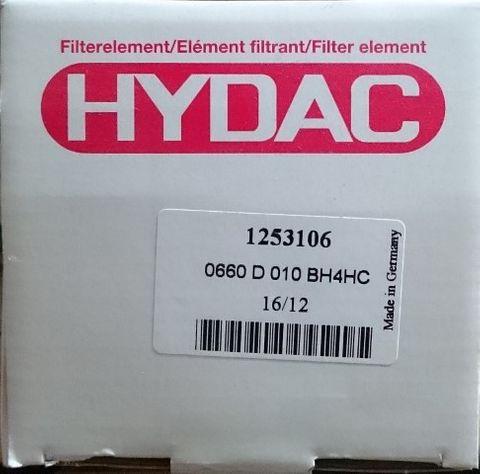 HYDAC HYDRAULIC FILTER 0660D010BH4HC