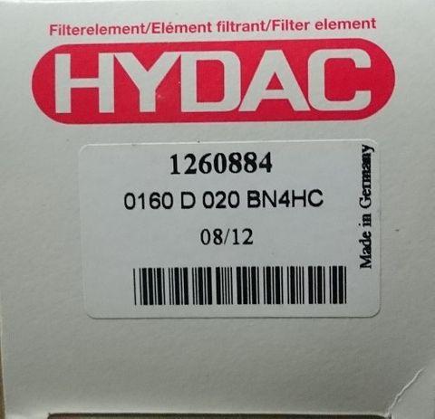 HYDAC HYDRAULIC FILTER 0160D020BN4HC