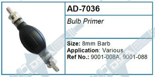 BULB PRIMER (8MM BARBS)