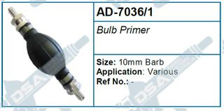 BULB PRIMER (10MM BARBS)