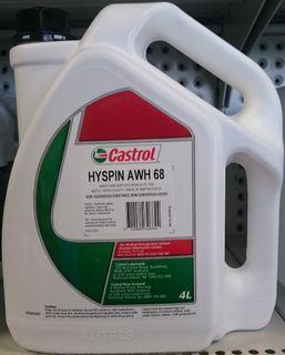 CASTROL HYSPIN AWH68 (4L) HYDRAULIC OIL