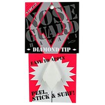 Surf Co Nose Guard Diamond Tip White