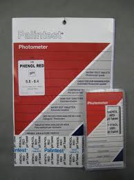 PHENOL RED TEST TABLETS