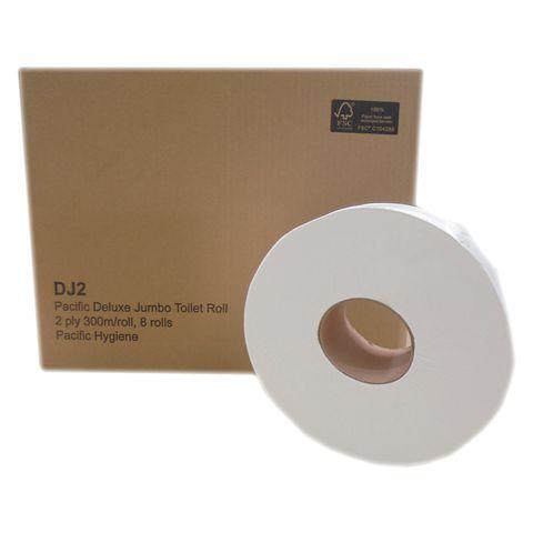 Toilet Tissue Roll 2 Ply Jumbo Classic