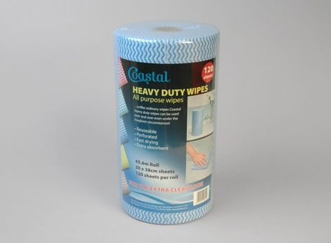 Blue Roll Wipes
