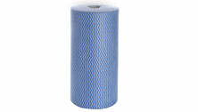 WIPES COLOURED ROLL BLUE