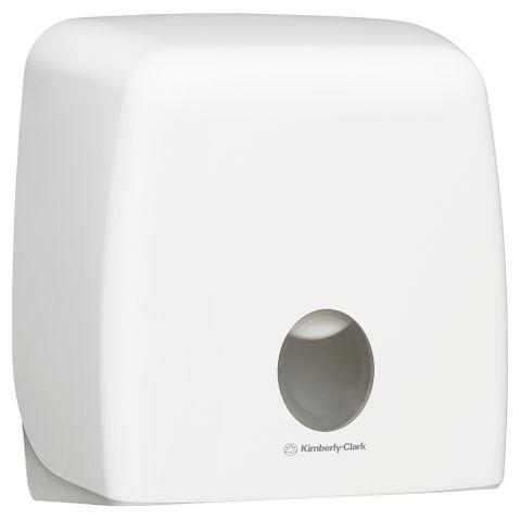 Dispenser Toilet Tissue Roll Jumbo Single ABS White