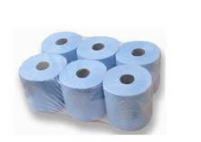 Hand Towel Roll Centre Feed 2 Ply Blue
