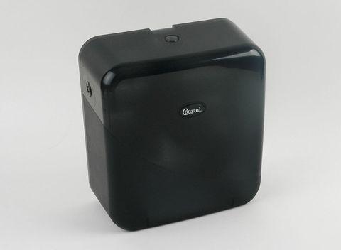 Dispenser Toilet Tissue Roll Jumbo Single Black
