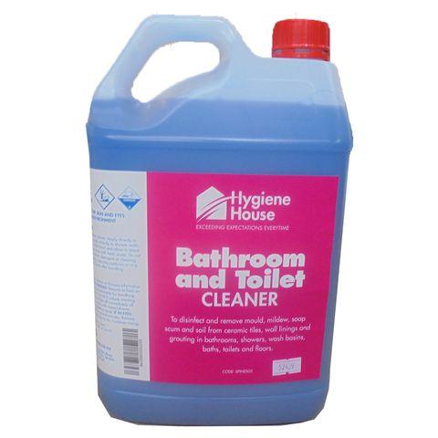 BATHROOM & TOILET CLEANER HH   DG8