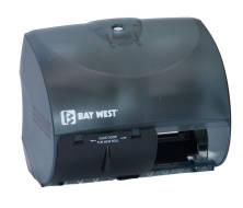 Dispenser Toilet Tissue Roll Opticore Dubl-Serv Black