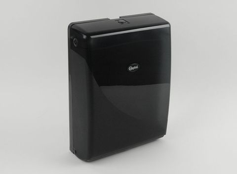 Dispenser Hand Towel Slimfold Black