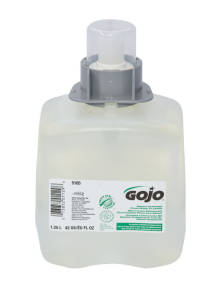 GOJO GREEN CERT FOAM SOAP FMX 1.25LTR