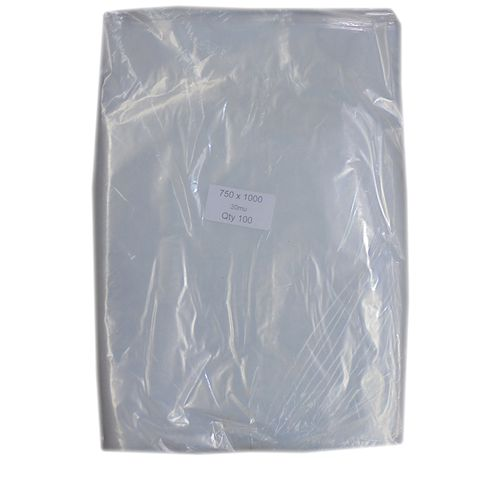 Rubbish Bags - Clear 80 Litre Pack
