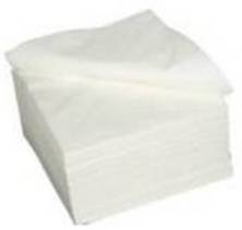 Serviettes 1 Ply White Packet