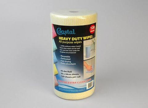Yellow Roll Wipes