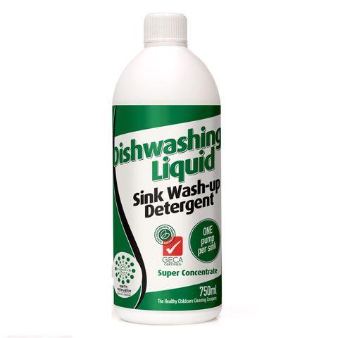 Earth Renewable Dishwashing Liquid Concentrate 750ml