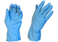 Gloves Silverlined X-Large Blue Pair