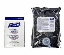 Sanitiser Hand Gel Frag Free Purell Refill 1000ml DGLQ
