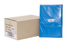 BLUE RUBBISH BAGS W/HANDLES CTN