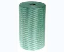 WIPES COLOURED ROLL GREEN