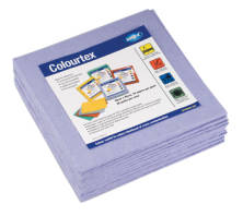 COLOURTEX BLUE WIPE PACKET