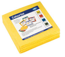 COLOURTEX YELLOW WIPE PACKET