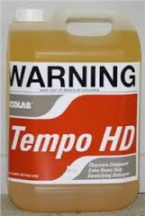LABEL TEMPO HD FLOOR CLEANER