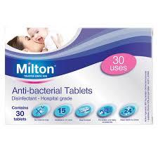 MILTON ANTIBACTERIAL TABLETS 30