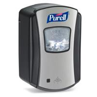 DISPENSER PURELL LTX TOUCH FREE FOAM SANITISER CHROME