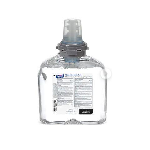 Foam Hand Sanitiser Purell Touch Free TFX Refill 1.2LTR (SUB ESG5391/5392) DG3