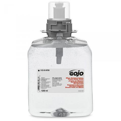 Gojo Soap Mild Anti Bacterial Foam 1250ml       DG3